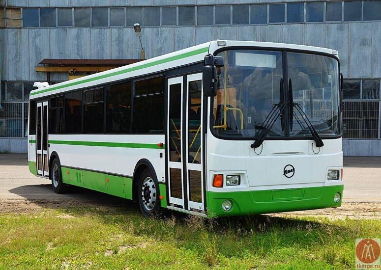 ЛиАЗ 5256 - Вид спереди