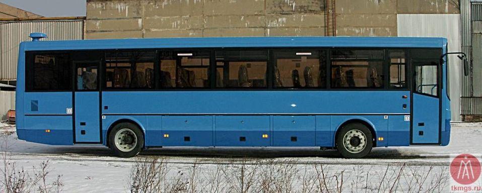 ЛиАЗ 525633-01 - Вид сбоку автобуса