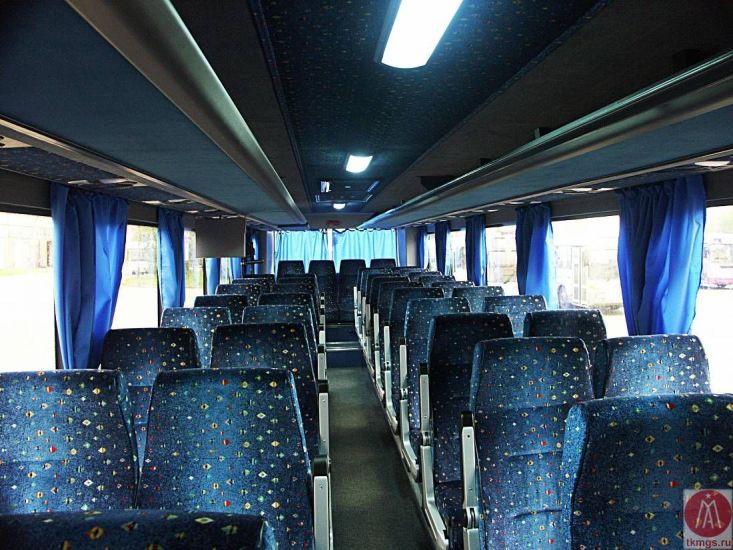 ЛиАЗ 525633-01 - Салон автобуса