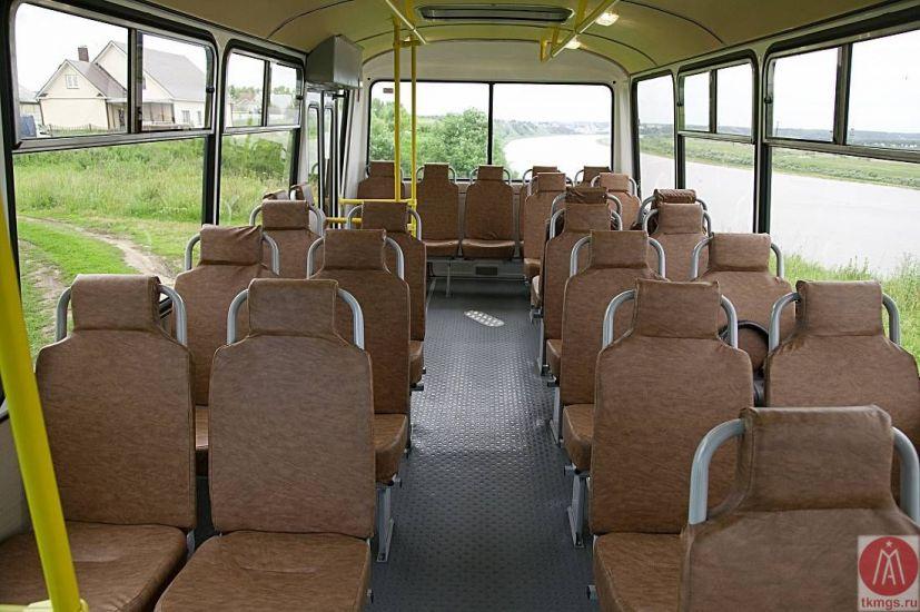 ПАЗ 4234 - Салон автобуса