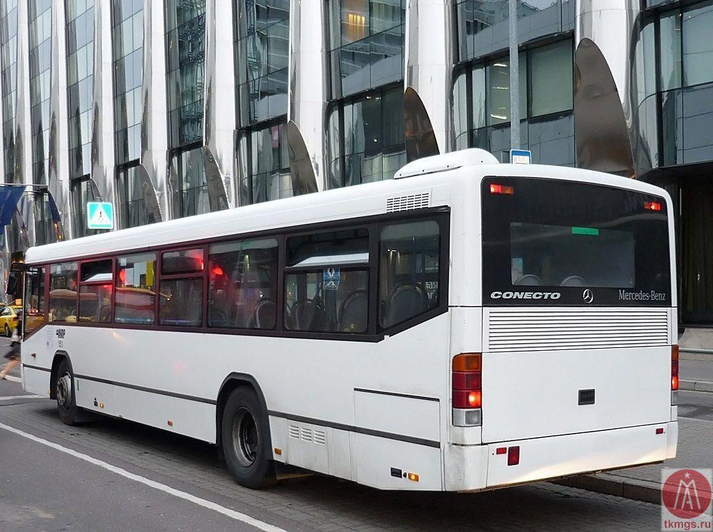 Mercedes-Benz O345 Conecto - Вид сбоку автобуса